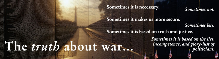 The Truth About War: A Revisionist Approach